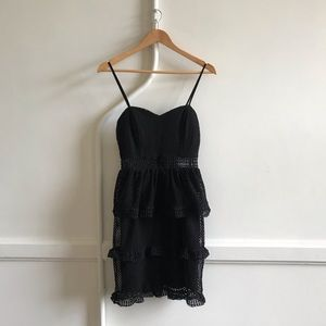 Mystic Los Angeles Black Cocktail Dress